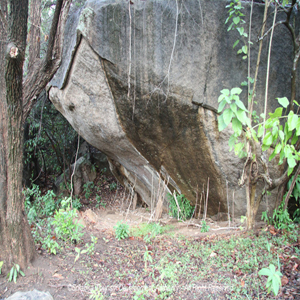 Ancient Veheragala of Pulukunawa