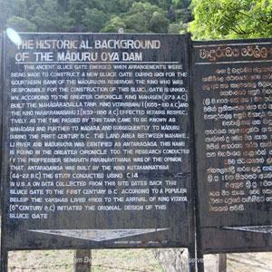 Maduru Oya Reservoir