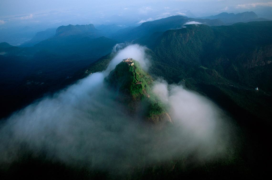 Adam's Peak or Sri Pada, Sri Lanka