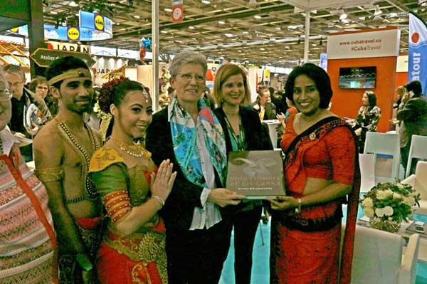 Sri Lanka Tourism impacts French consumers at Salon Mondial Du Tourism (SMT) Travel Fair, Paris, France 2018
