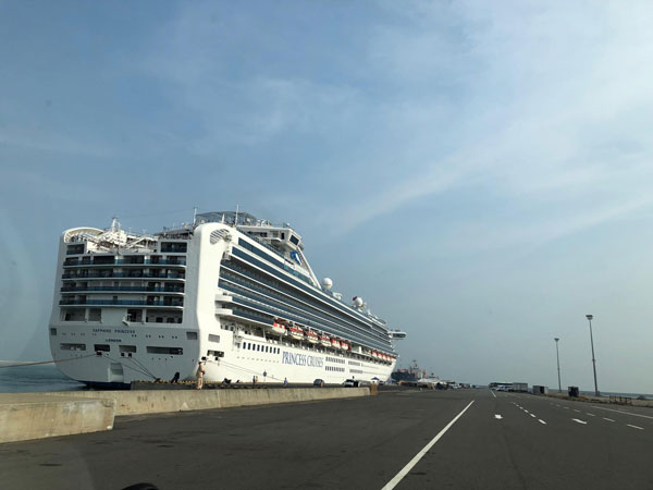 Over 3000 tourists arrive onboard two cruise ships to Sri Lanka