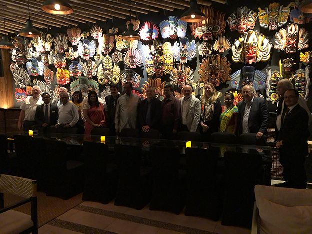 A high profile delegation from Belgium arrives in Sri Lanka for a familiarization visit