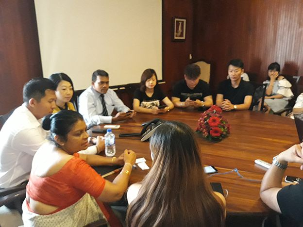 Chinese delegation calls on SLTPB for a visit to extend support to boost Tourism