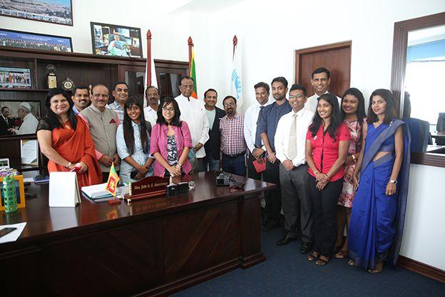 Sri Lanka Tourism Promotion Bureau welcomes a delegation of high profile Indian journalists to Sri Lanka