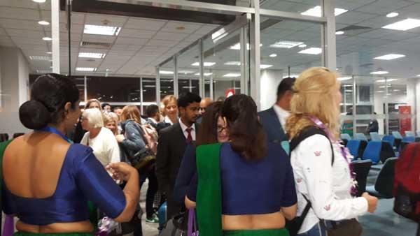 LOT Polish Airlines makes its inaugural flight to Sri Lanka