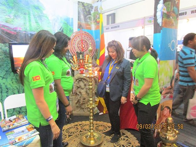So Sri Lanka won the Best Decorated International Pavilion at the 26th PTAA Travel and Tour Expo 2019