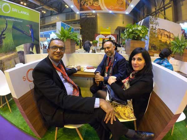 Spanish travelers enthralled by So Sri Lanka experience at FITUR Travel Fair, Spain 2019