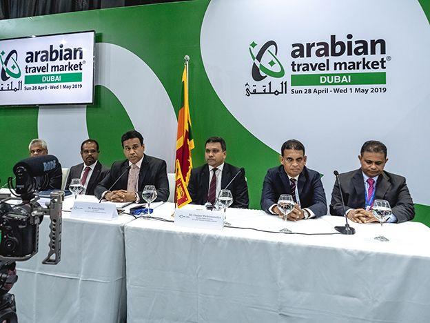 Sri Lanka Tourism addresses global media at ATM, Dubai