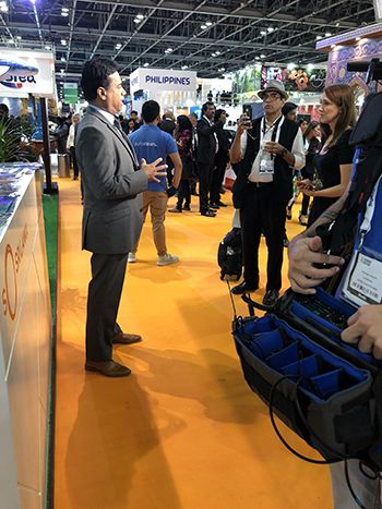 Sri Lanka Tourism addresses global media at ATM, Dubai