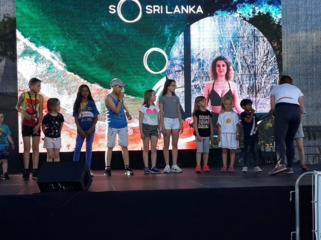 Sri Lanka Tourism shines in Vistula Boulevards in Warsaw, Poland