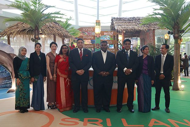 Sri Lanka shines at the Shopping Mall Promotion in Malaysia