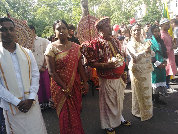 Sri Lanka showcases its best at the Carnival of Cultures