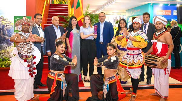Sri Lanka Tourism Celebrates the Big Win by Santani at the World Travel Market UK