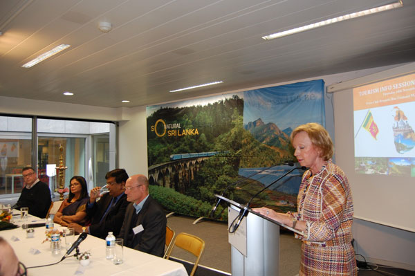 Sri lanka promoted as a travel destination in belgium