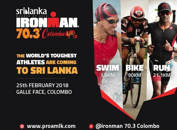 Sri Lanka 'Wonder of Asia' IRONMAN 70.3 Colombo